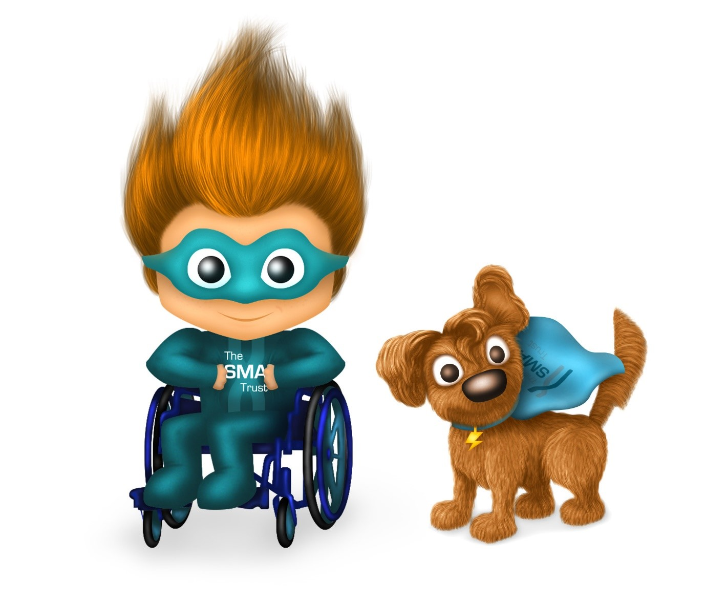 ActiveWin The SMA Trust mascots